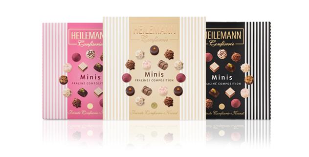 Mini Pralinés von Heilemann