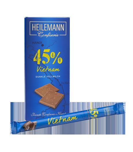 Ursprungs-Schokolade Vietnam
